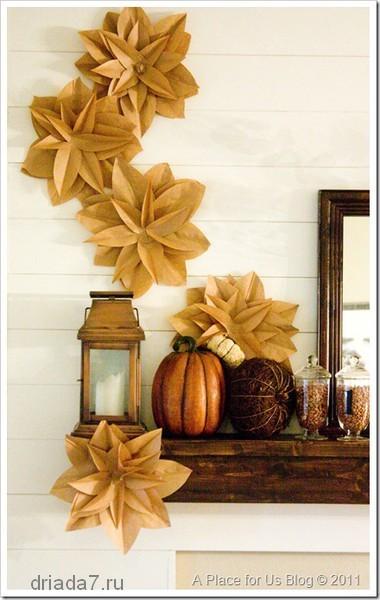 Поделки из оберточной бумаги из под цветов к новому году