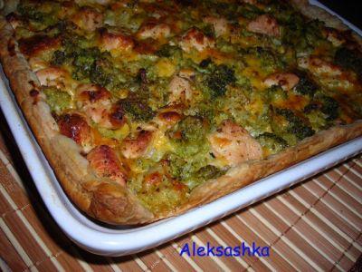 Слоеный пирог с брокколи (7) (400x300, 32Kb)