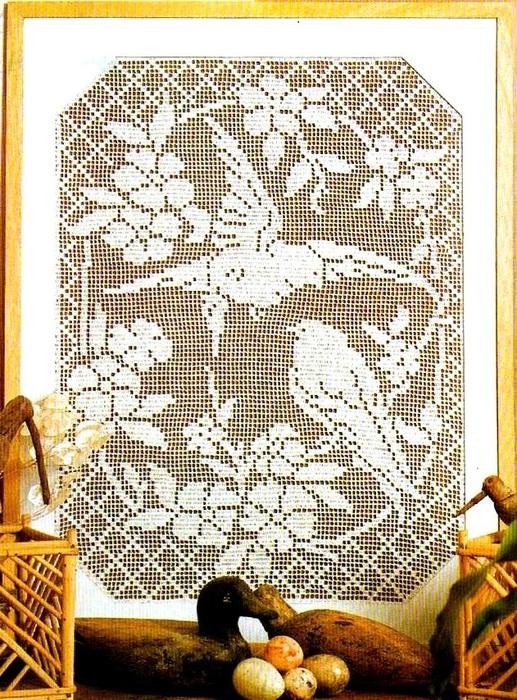 вязание крючком. салфетки скатерти подушки (3) (517x700, 222Kb)