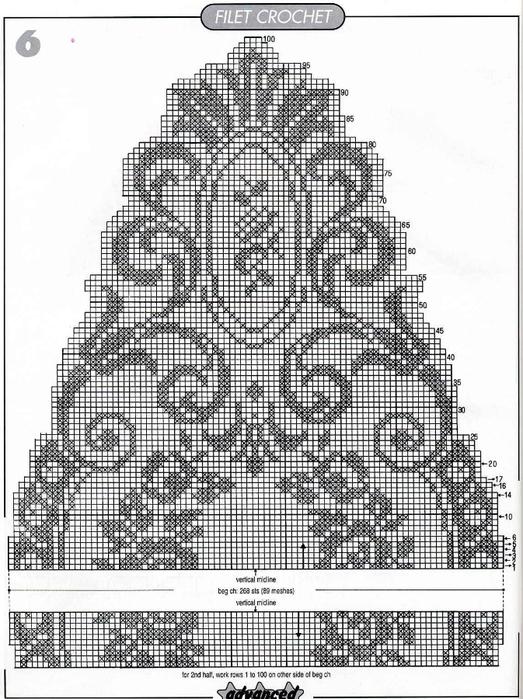 вязание крючком. салфетки скатерти подушки (8) (523x700, 283Kb)