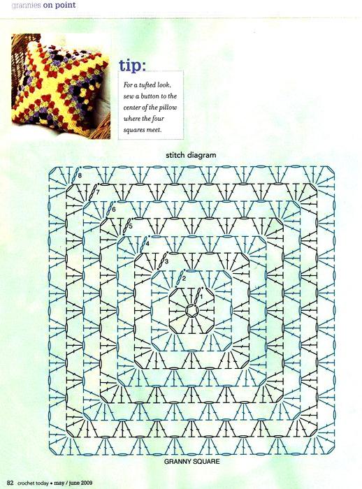 вязание крючком. салфетки скатерти подушки (36) (518x700, 171Kb)