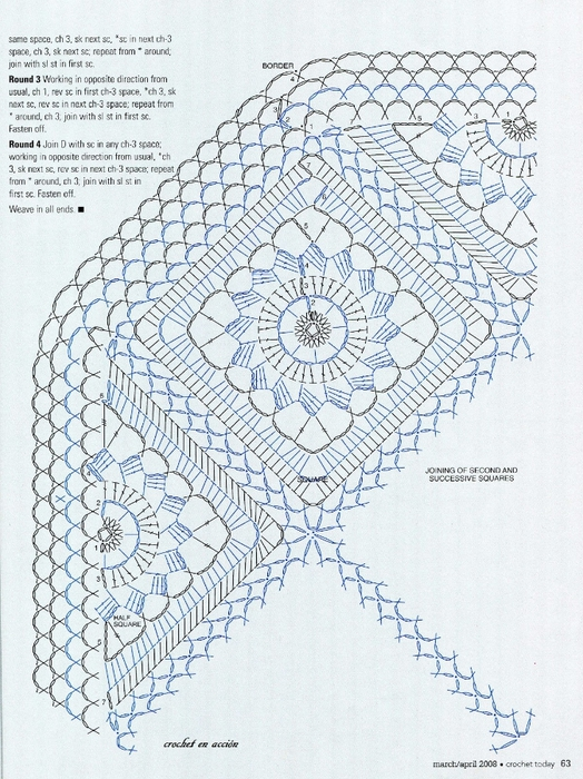 вязание крючком. салфетки скатерти подушки (60) (524x700, 346Kb)