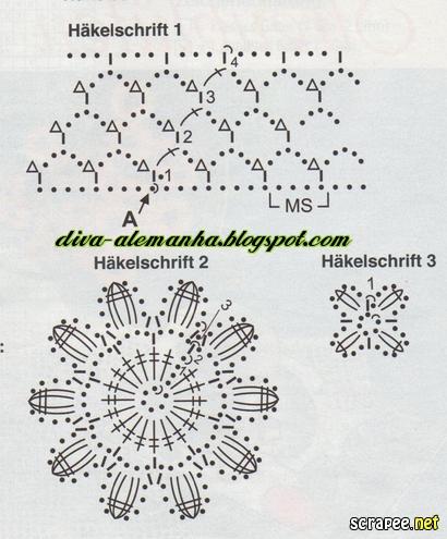 вязание крючком. салфетки скатерти подушки (71) (410x495, 112Kb)