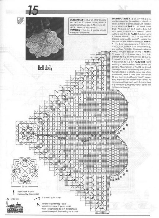 вязание крючком. салфетки скатерти подушки (73) (511x700, 116Kb)