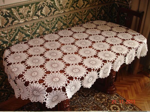 вязание крючком. салфетки скатерти подушки (77) (600x450, 129Kb)