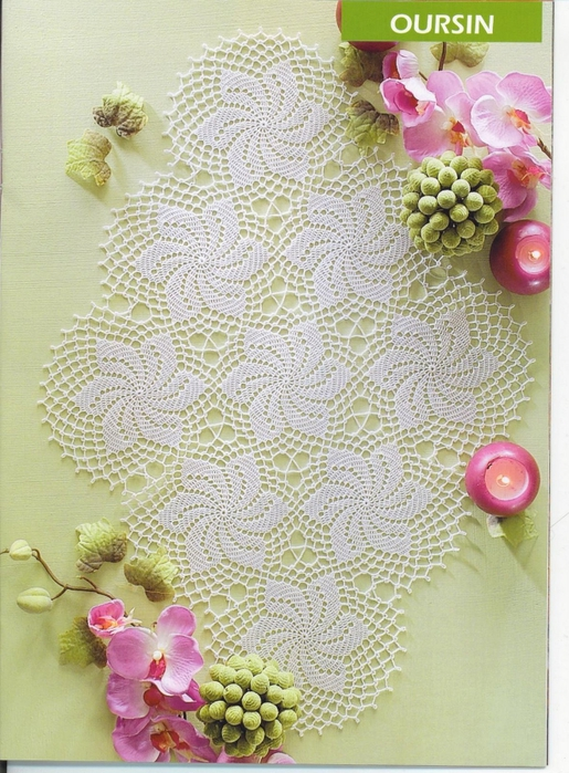 вязание крючком. салфетки скатерти подушки (81) (515x700, 330Kb)