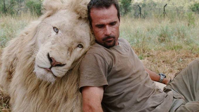 Kevin Richardson львы фото (680x383, 101Kb)