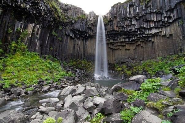 Водопад Литланесфосс, Исландия (604x403, 55Kb)