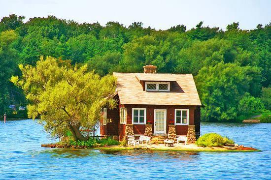 Маленький райский островок в Канаде (550x366, 53Kb)