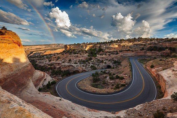 Пейзаж в штате Колорадо, США (604x403, 61Kb)