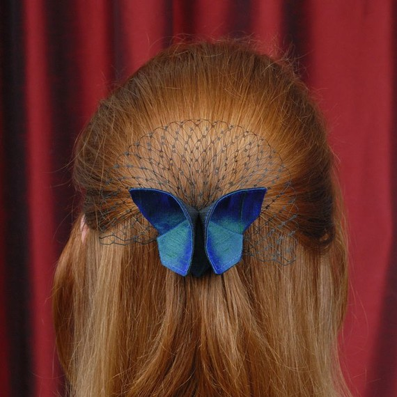 Бабочки на шею из ткани своими руками
