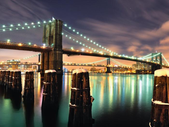 Бруклинский мост (700x525, 119Kb)