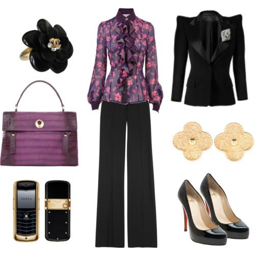 Бизнес стиль в одежде 2013