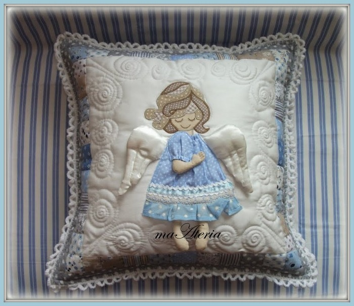 Лоскутное шитье. Детские подушки (34) (700x605, 112Kb)