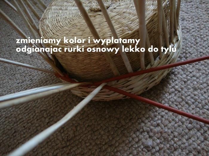 Плетение из газет. Объемная вазочка для фруктов (15) (700x525, 315Kb)