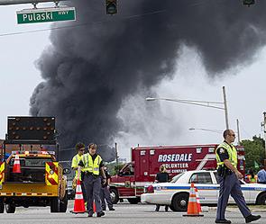 Взрыв поезда с химикатами в США (295x249, 35Kb)