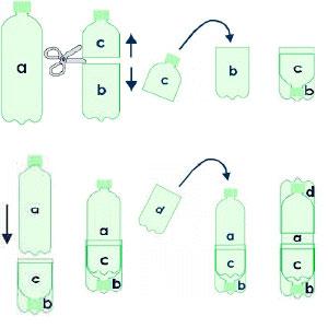 Пуфик из пластиковых бутылок своими руками пошагово с фото