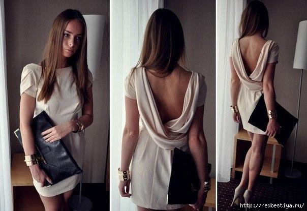 Как сшить модное платье юбка в складку