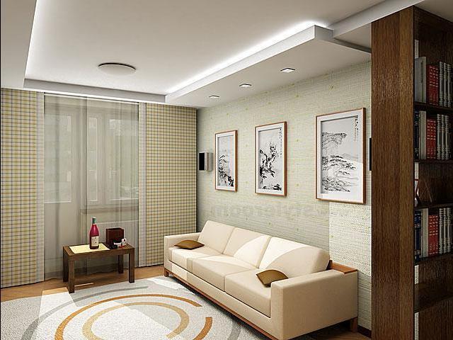 Большая комната в хрущевке фото