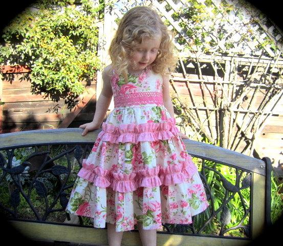 Летние платья для девочки 7 лет своими руками