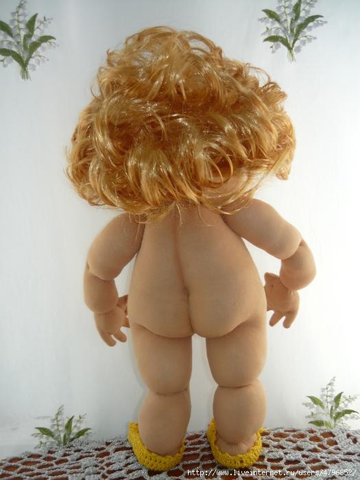 Кукла из колготок Радужка.