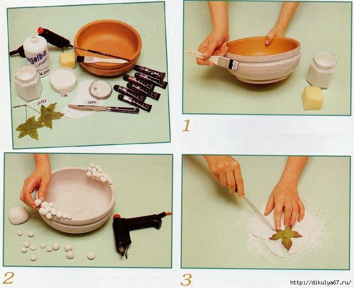 Поделка из глины с инструкцией и