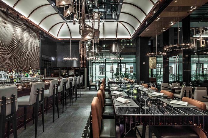 креативный дизайн интерьера ресторана фото 2 (700x466, 208Kb)