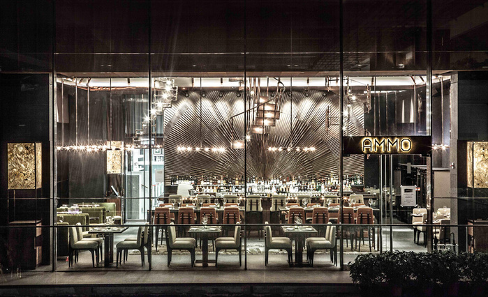 креативный дизайн интерьера ресторана фото 4 (700x426, 182Kb)