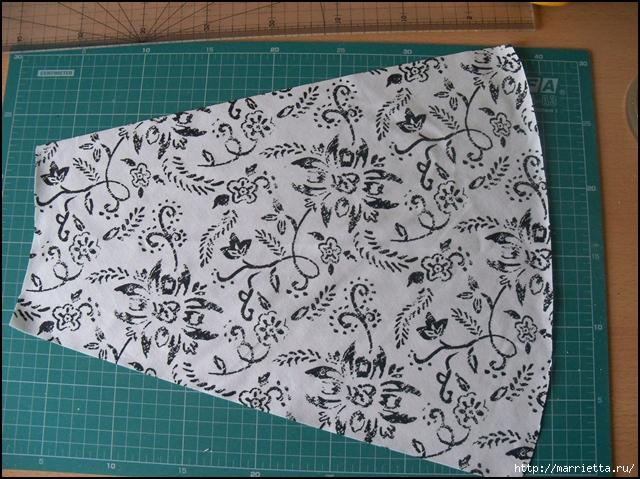 Текстильные цветы и веточки на проволоке и декор вазы тканью (2) (640x479, 319Kb)