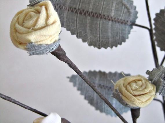 Текстильные цветы и веточки на проволоке и декор вазы тканью (22) (570x427, 44Kb)