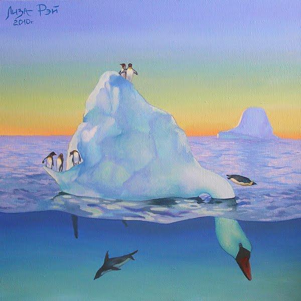 лебедь айсберг 2010 - 2 (600x600, 47Kb)