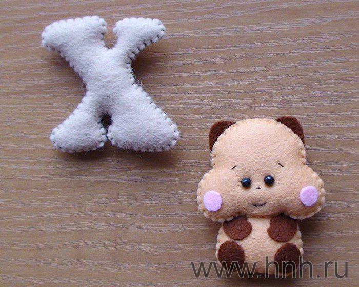 Фетровый алфавит с игрушками из фетра (36) (700x560, 72Kb)