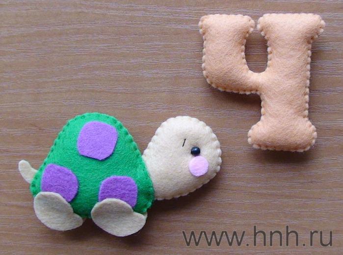 Фетровый алфавит с игрушками из фетра (38) (699x519, 57Kb)