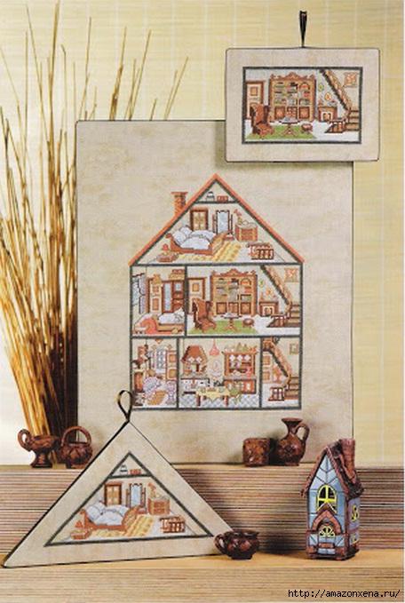 Вышивка. Кукольные домики с мебелью (1) (456x679, 213Kb)