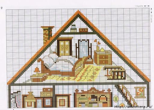 Вышивка. Кукольные домики с мебелью (3) (512x365, 197Kb)