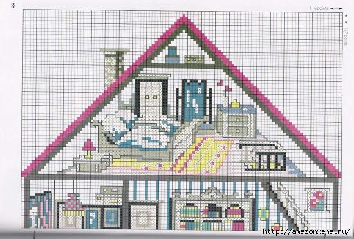 Вышивка. Кукольные домики с мебелью (6) (512x346, 177Kb)