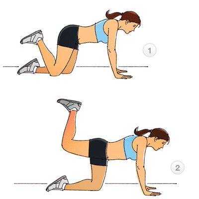 Как убрать живот и бока упражнение в картинках
