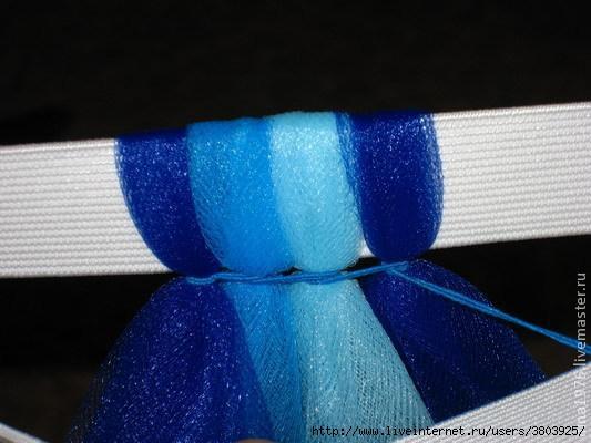 Как сделать пышную tutu юбочку с помощью нитки-резинки Zalin.ru