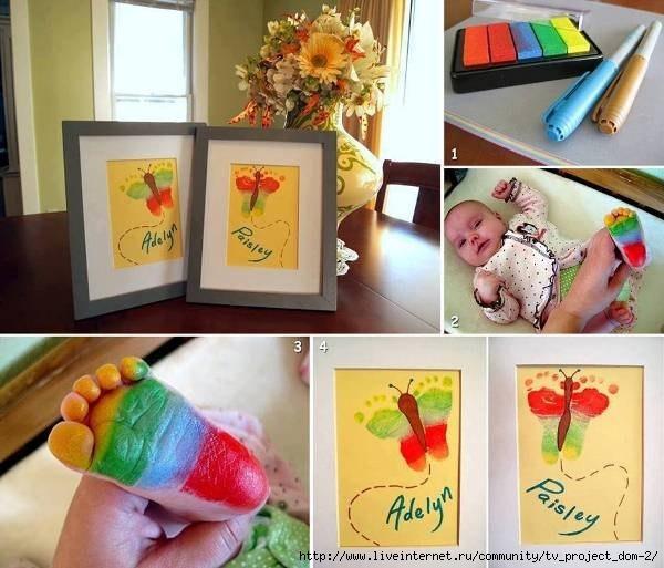 Картины своими руками в подарок маме