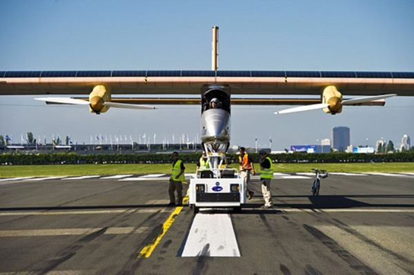 Solar Impulse. Первый самолёт на солнечной энергии