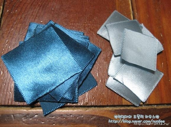 Цветочки КАНЗАШИ из атласных лент. Мастер-класс (3) (579x432, 207Kb)