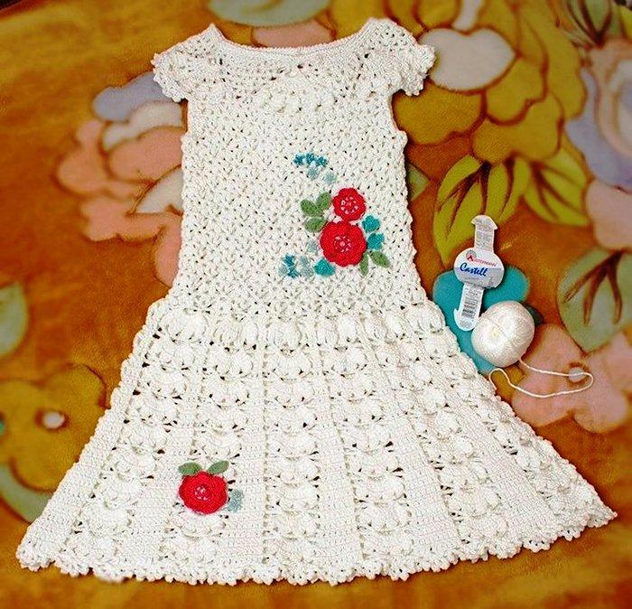 Платье для девочки 7 лет