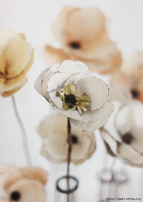 Цветы из акварельной бумаги (1) (493x700, 143Kb)
