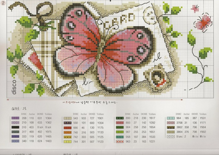 Марки с бабочками (схемы для вышивки).  Прочитать целикомВ.