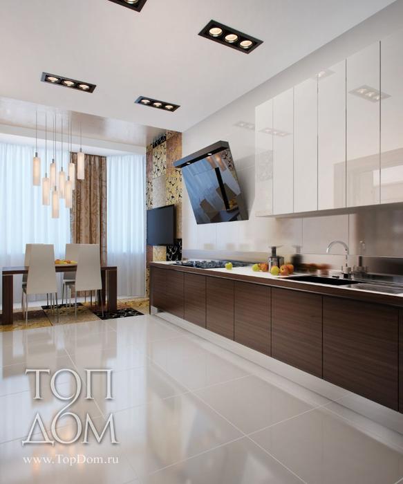 кухня зал дизайн фото