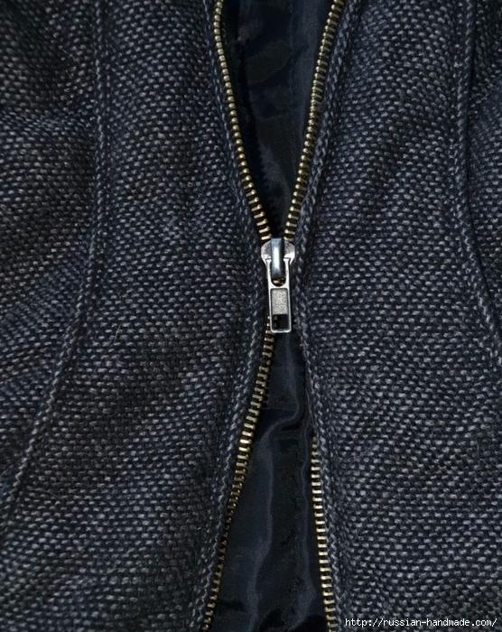 Как починить молнию на куртке, замена ползунка (3) (556x700, 362Kb)