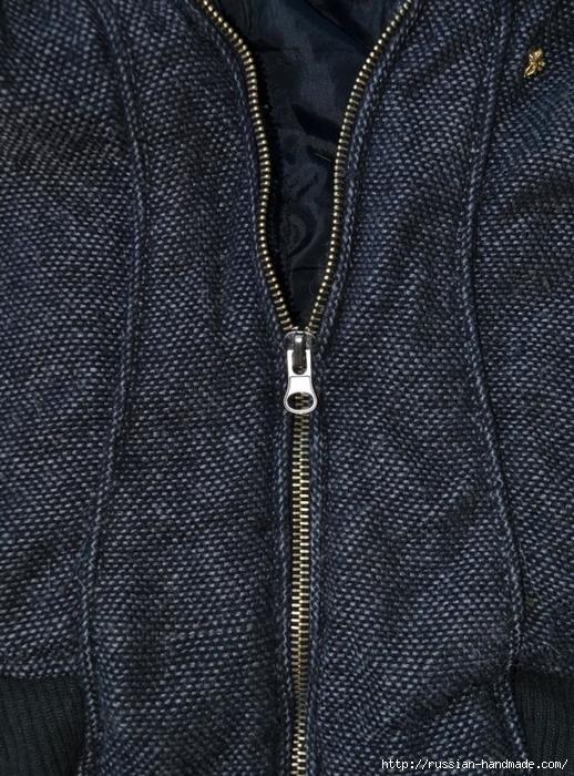 Как починить молнию на куртке, замена ползунка (11) (518x700, 348Kb)