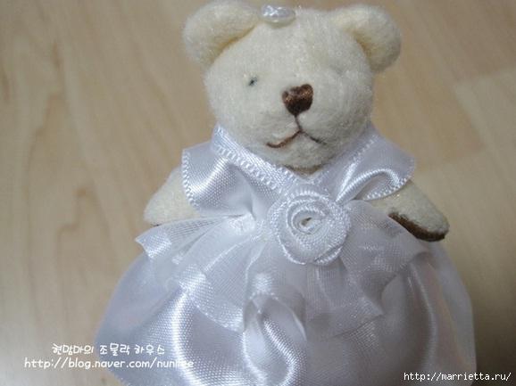 Свадебный наряд для маленького медвежонка. Мастер-класс (17) (578x433, 119Kb)
