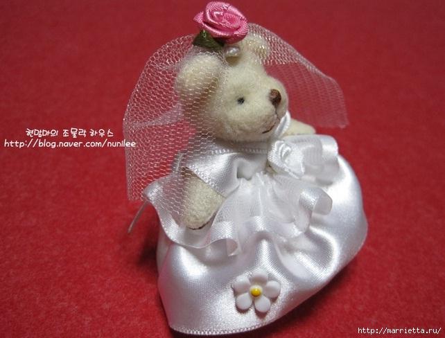 Свадебный наряд для маленького медвежонка. Мастер-класс (23) (642x488, 171Kb)