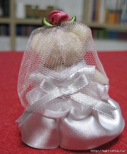 Свадебный наряд для маленького медвежонка. Мастер-класс (25) (440x533, 146Kb)